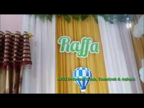 dekor aqiqah - youtube