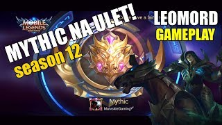 EASY MYTHIC WITH LEOMORD | SOLO Q MYTHIC - Mobile Legends