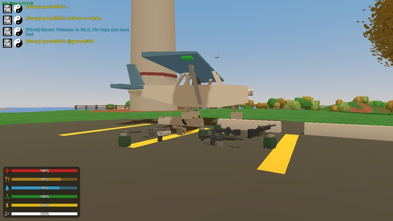 HOW TO spawn in items/vehicles in unturned 2018