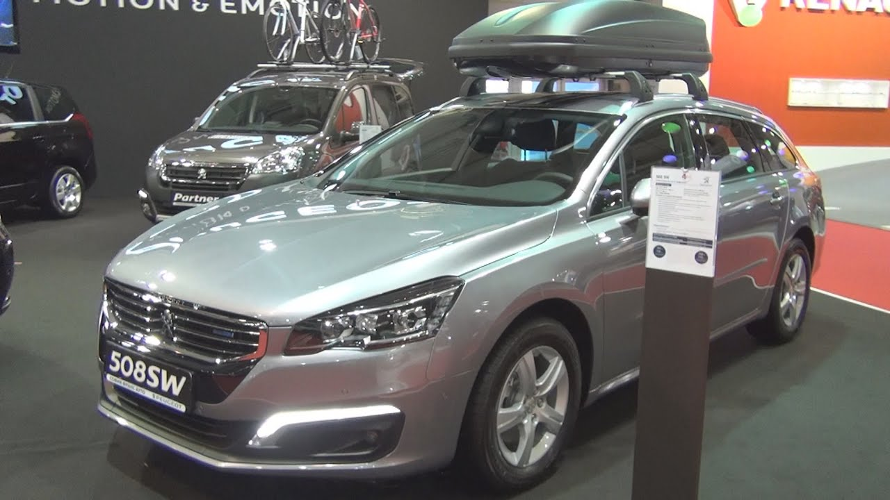 peugeot 508 sw active 2 0 bluehdi 150 stt bvm6 euro 6 2016 exterior and interior in 3d youtube. Black Bedroom Furniture Sets. Home Design Ideas