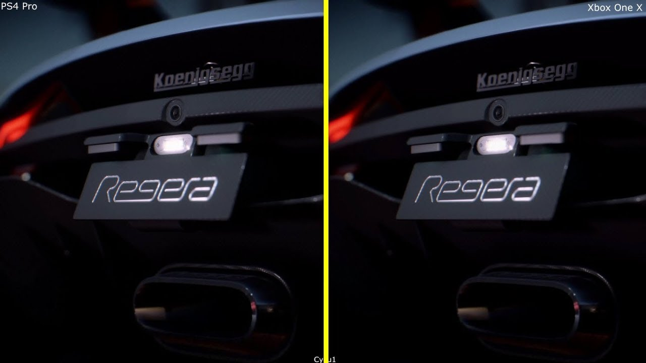 Need For Speed Payback Ps4 Pro Vs Xbox One X Graphics Comparison N4g