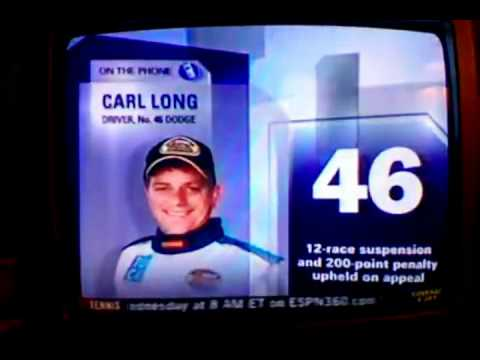 Top 10 unluckiest NASCAR Drivers - #1 Carl Long