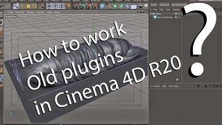 Cinema 4d R20 Plugins doesn't work! Solution