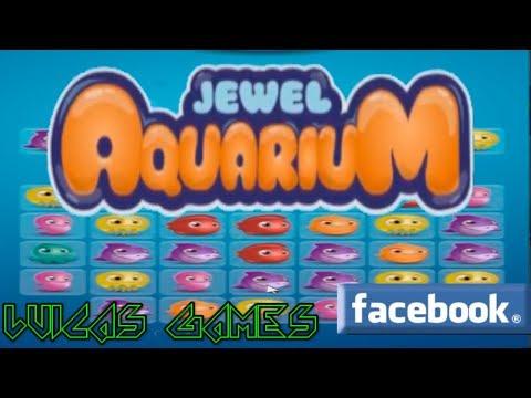 Jewel Aquarium Juego Gratis Facebook y PC