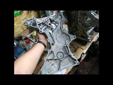 Mazda 3 Z6 (Переборка ДВС) Завершение сборки (Зазоры клапанов и Привод ГРМ)