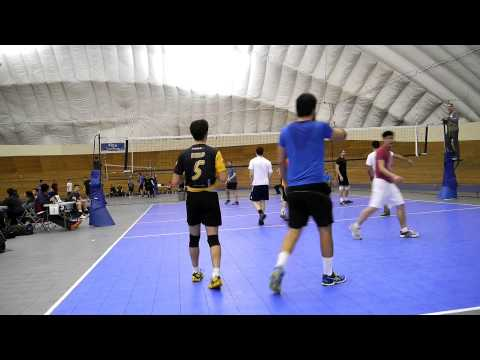 Vancouver Volleyball Thursday Mens League 2016-01-21 Court 2