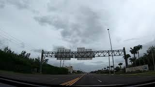 Hurricane Dorian from Orlando to Cocoa Beach Florida 2019