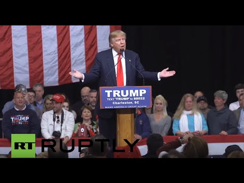 LIVE from Trump's rally in Spartanburg as South Carolina primary results are announced