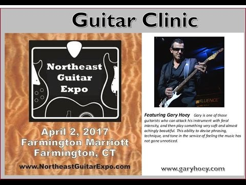 Gary Hoey at the Northeast Guitar Expo Clinic 2 April 2017