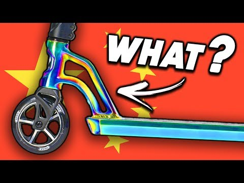 DO CHINESE TRICK SCOOTERS SUCK ?!