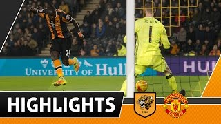 The Tigers 2 Manchester United 1 (2-3 Aggregate)   Highlights   26.01.17