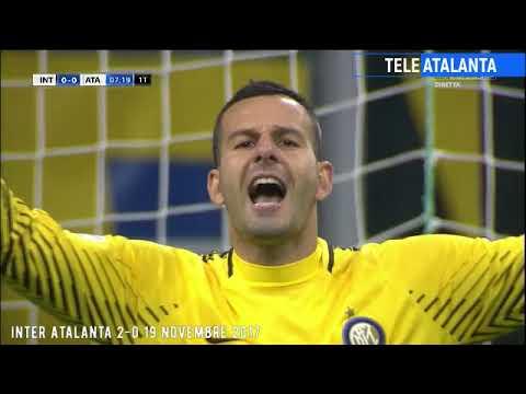 Inter Atalanta 2-0 17 novembre 2017 telecronaca Sky