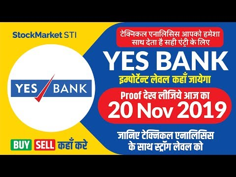 Yesbank Share Price Target 20 November | Yes Bank Stock News | Bse Nse YESBANK Share Price Buy Sell