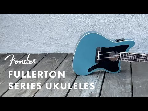 Introducing the Fullerton Series Ukuleles | Fender