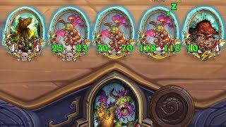 THREE GOLDEN POGO HOPPERS???!!! Shudderwock | Battlegrounds | Hearthstone