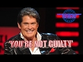 watch he video of DAVID HASSELHOFF YOU'RE NOT GUILTY 2005