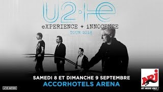 U2 - Beautiful Day Live 4K @ AccorHotels Arena Paris France September 8th 2018