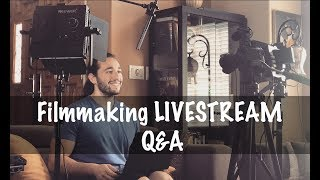 LIVE Filmmaking Advice - Q&A - What Equipment To Buy | Momentum Productions
