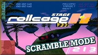 Rollcage : Stage II : SCRAMBLE mode - PS1 - with Commentary !!