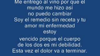 Andres Calamaro   Mi Enfermedad (Con Letra)