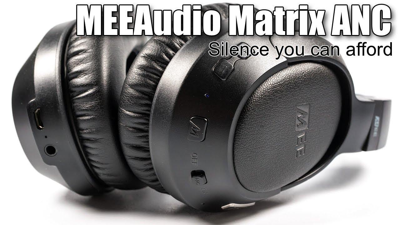 MEEAudio Matrix Cinema with <b>active noise cancelling</b> - YouTube