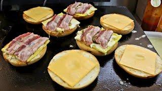 콰트로 치즈 베이컨 베이글 / Quattro Chees…