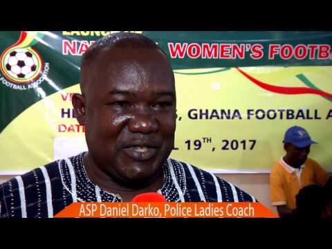 Full 2016/17 Ghana National Women's League Launch