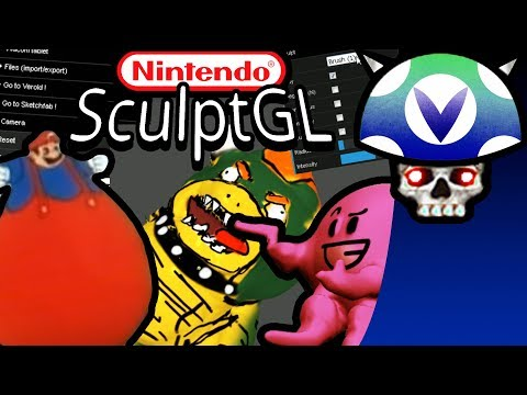 [Vinesauce] Joel - SculptGL Nintendo Horror