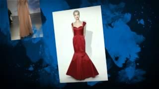 Цветные подвенечные платья 2014