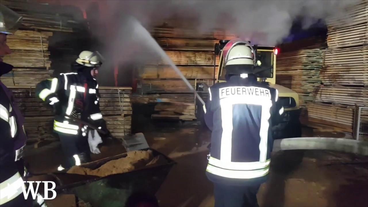 Sägewerk Düsseldorf großbrand im holter sägewerk