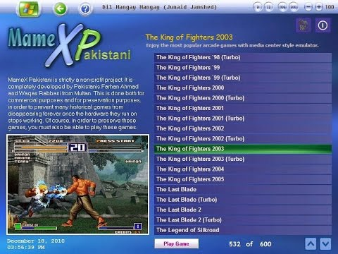 how to download mame XPakistani(xp) 600 video games pack ...