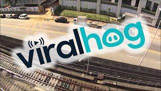 Brutal BASE Jumping Accident || ViralHog