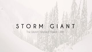 Storm Giant: The World's Hardest Drytooling Route