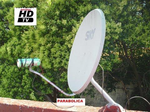 ✔COMO VER CANALES HDTV CON UNA ANTENA PARABOLICA , fácil de hacer, plasma led lcd 3D