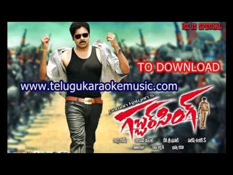Kevv Keka_Gabbar Singh_Telugu Karaoke