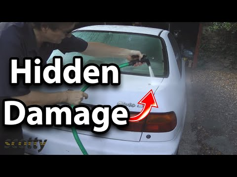 How To Check For Hidden Car Wreck Damage