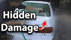 How to Check for Hidden Damage after Car Accident