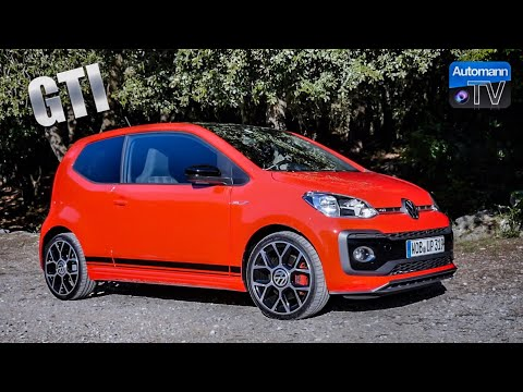 2018 VW up! GTI (115hp) – DRIVE & SOUND (60FPS)