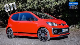 2018 VW up! GTI (115hp) - DRIVE & SOUND (60FPS)