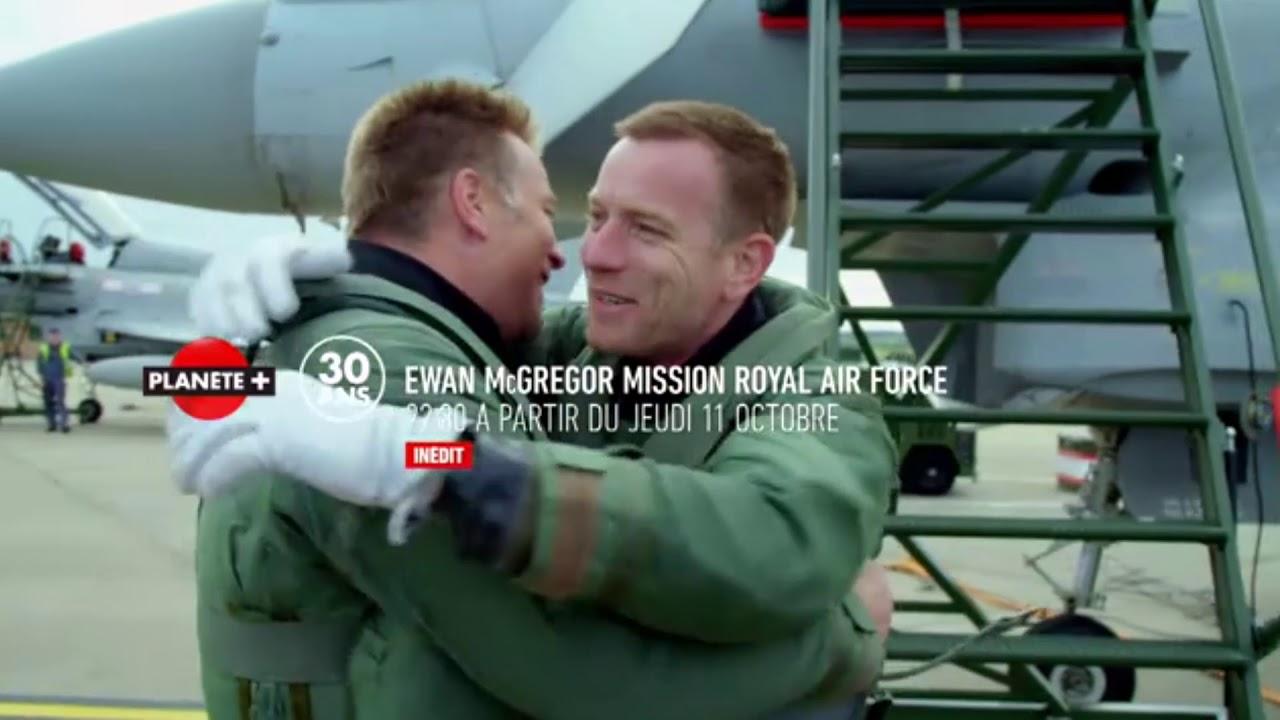 Ewan McGregor : Mission Royal Air Force Planète +