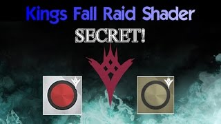 Secret Kings Fall Raid Shader!