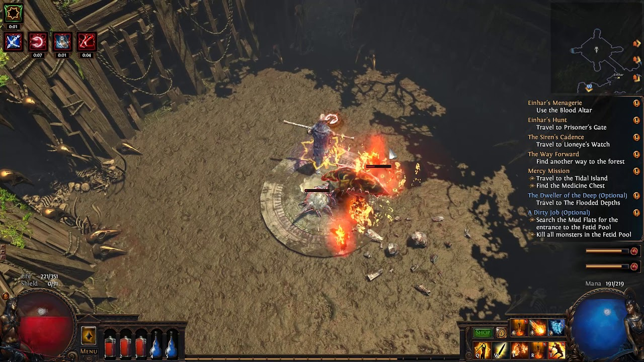 Path of Exile - My first Menagerie Recipe
