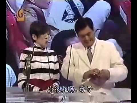 Tony Leung Accepting Award on behalf of Maggie Cheung -  2001 HK Film Awards