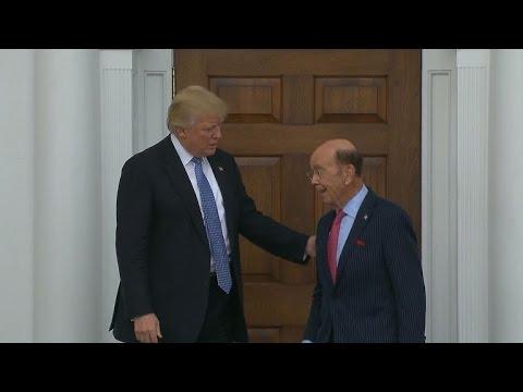 Trump narrows down his Cabinet picks