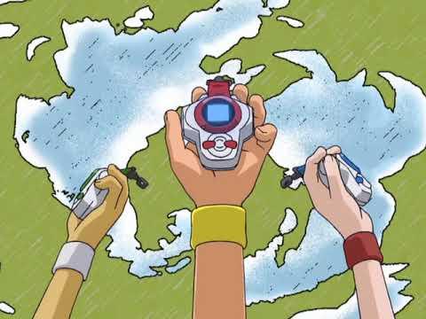 Digimon Tamers Opening with lyrics