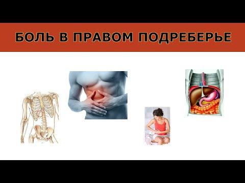 Почему болит правый бок - таблица причин и методов лечения