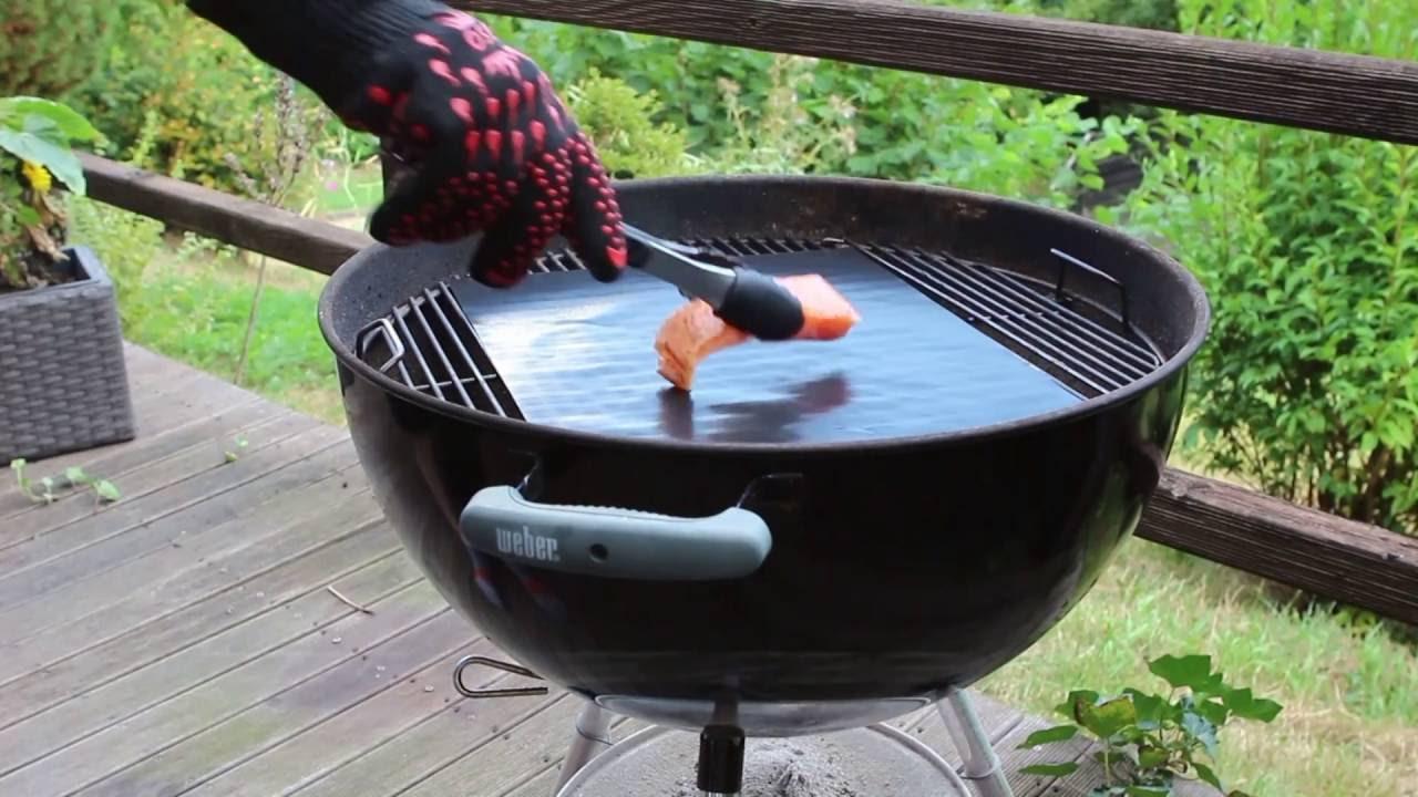 Grillmatte Für Gasgrill : Grillen mit der dacaso bbq grillmatte perfektes grillgut