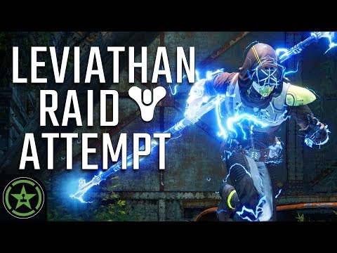 Let's Play - Destiny 2: Leviathan Raid - The First Attempt
