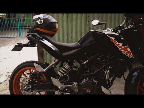 KTM Duke 200 tail tidy modification