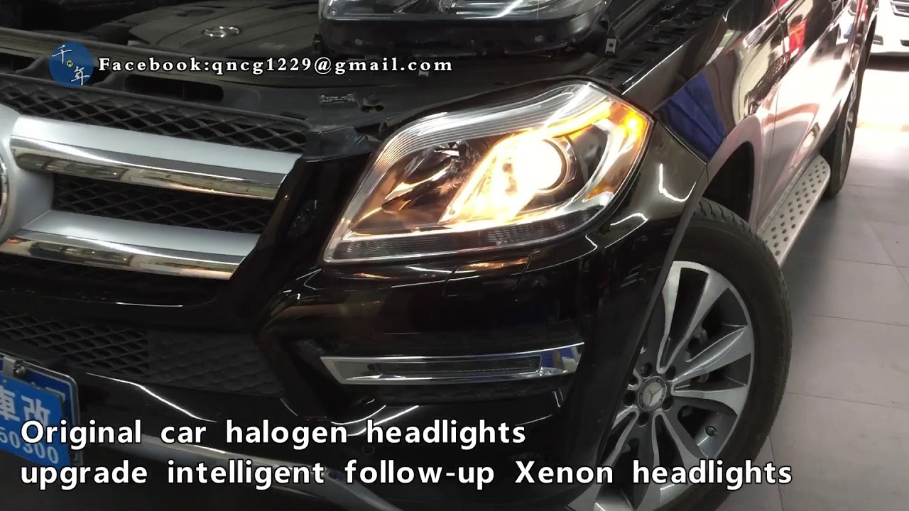 W166 Mercedes-Benz GL450, GL550 halogen Headlights